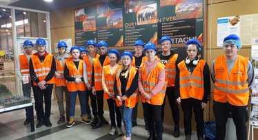 Экскурсия в Hitachi Construction Machinery EURASIA